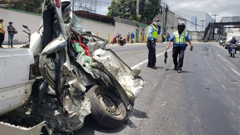 Mortal accidente en la ruta al pacifico ocasionado por un trailer.